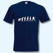 T-Shirt, Fun-Shirt, Evolution Gitarre, Gitarrist, Musik, Musiker, S-XXXL
