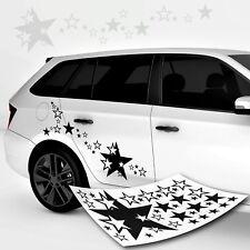 Autoaufkleber Stern Sterne * Highlight Star *   Autotattoo TOP XL Set Farben