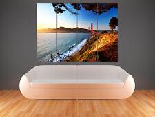 SAN FRANCISCO GOLDON GATE BRIDGE    POSTER WALL ART PICTURE