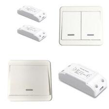 Lichtschalter Empfänge Funk Ein-/Ausschalter 433Mhz Wandschalter 230V AC Doppel