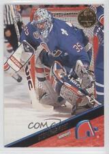 1993-94 Leaf #301 Stephane Fiset Quebec Nordiques Hockey Card