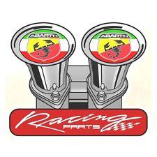 Sticker ABARTH Racing Parts