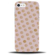 Pink and Golden Glitter Balls Phone Case Cover | Spots Dots Dot Spot Polka B374