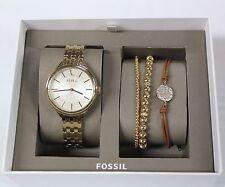 New Fossil BQ3079SET Silver / BQ3153SET Gold or BQ3078SET Rose Gold for WOMEN