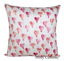 Tana Lawn Love Heart Balloons Cushion Cover