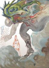 Salvador Dali The Divine Comedy Inferno #31 Woodblock Fine Art Print, Make Offer
