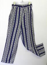 Denim blue leaf stripe short sleeve blouse or collar shirt,pant option 60+ sold!