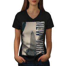 City Fashion New York Femmes T-Shirt col V nouveau | wellcoda
