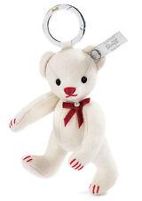 STEIFF Keyring felt Teddy bear White LIMITED EDITION EAN 036231
