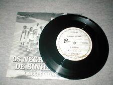 33 RPM OS NEGROS DE SINHA A DESPIDIDA MEU AMOR PARLOPHONE S7P-19015 PORTUGUESE