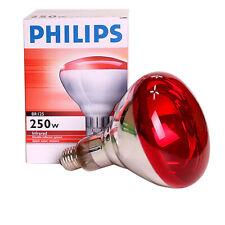 Philips Infrared Lamp 250W 150W  E26 E27 Light Heat Bulb Massage Skin Care