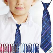 CRAVATTA BAMBINO blu mod 2 regimental cravattino 2/16 anni TANTI COLORI D0481