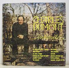 """33 tours Charles DUMONT Disque LP 12"""" INTIMITE - PATHE C 064 11950 Frais Réduit"""