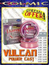 Monofilo Giapponese trattato anti UV Colmic Vulcan - Power Cast 150mt.