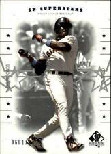 2001 (GIANTS) SP Authentic #157 Barry Bonds SS /1250