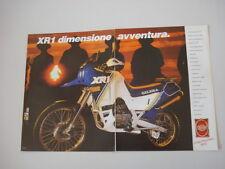 advertising Pubblicità  1988 MOTO GILERA 125 XR1 XR 1