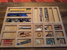Schubladeneinsätze diverse Typen ein Preis Buche-Leimholzplatte 18mm