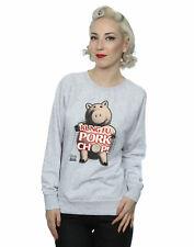 Disney Women's Toy Story Kung Fu Pork Chop Sweatshirt