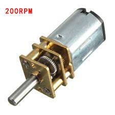 N20 DC 6 V 50/100/150/200/300RPM Mini speed reduction gear Brossé Moteur Modèle
