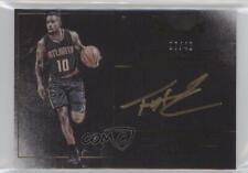2015-16 Panini Noir Color #NC-THJ Tim Hardaway Jr Atlanta Hawks Jr. Auto Card
