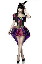 Robe de sorcière halloween horreur costume sexy femme noire pourpre uy 80001