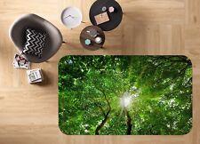3D Green Leaves Tree 83 Non Slip Rug Mat Room Mat Round Elegant Photo Carpet CA