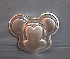 Wilton Disney Mini Small MICKEY MOUSE FACE Cake Pan Gelatin Treat Mold