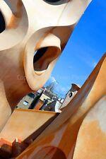 Barcelona Casa Mila la Pedrera GAUDI España Fotografía foto impresión de arte cartel