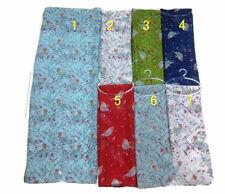 Ladies Women Robin Birds Print Scarf Sarong Wrap Same Day Dispatch Free Delivery