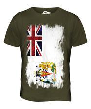 Territorio Antártico Británico Grunge Bandera Para hombres Camiseta Camiseta Top Camisa de fútbol de regalo