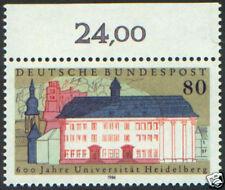 1986 Germany #1472 600th Heldelberg Univ. VF MNH
