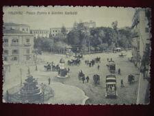 "PALERMO  piazza Marina e Giardino Garibaldi , viaggiata,animata,""900  f/p #335"