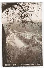 Panorama Tamazunchale San Luis Potosí Mexico RPPC real photo postcard