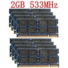 16GB 8GB 4GB 2GB 1GB PC2-4200S DDR2 533MHz SO-DIMM Laptop Memory LOT For NANYA