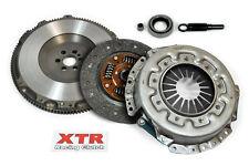 XTR RACING HD CLUTCH KIT+CHROMOLY FLYWHEEL SKYLINE JDM R32 RB20DET RB25DET RWD