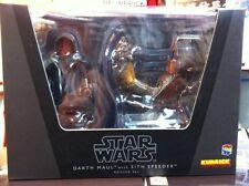 "Medicom Star Wars Kubrick ""Darth Maul Sith Speeder Bike"" Boxset Reissued Version"