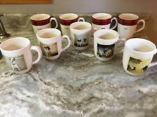 New listing Large Coffee Mug Retro Dog Or Plaid You Choose Rae Dunn 16 Ounces New.