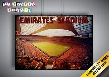 Cartel Emiratos Stadium Arsenal Club De Fútbol Wall Arte