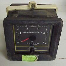 Signet Accum-U-Flow Meter #P57540R - Flow meter 0 to 30 GPM - 12 volt DC input