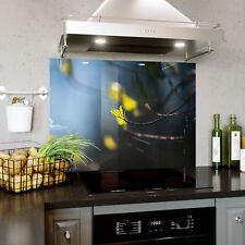 Verre Splashback Cuisine Tuile Cuisinière Panneau Any Taille Ressort Plante Leaf