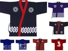 Men Women Japanese Chef Jackets Coat Kimono Sushi Restaurant Bar Clothes Uniform