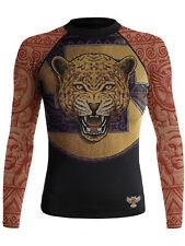 Raven Fightwear Women's The Jaguar Warrior Rash Guard MMA Black
