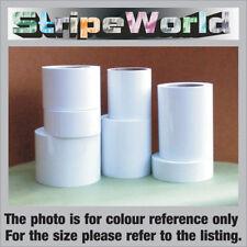 50mm Self Adhesive Matt White Vinyl Stripe for car, caravan, horsebox, boat