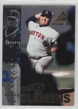 1997 Pinnacle Inside #36 Roger Clemens Boston Red Sox Baseball Card
