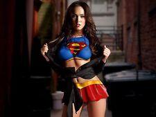 Megan Fox Unsigned 16x20 Photo Supergirl (43)