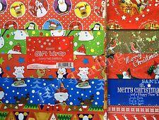 50 cm SQ ASSORTITI Grazioso Design Tradizionale Natale Chrismas Pacco Regalo