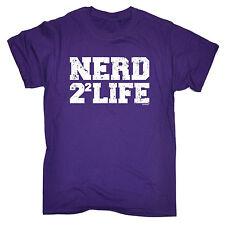 Nerd 4 Vie T-shirt homme tee Noël Geek connotés sciences mathématiques Squared drôle