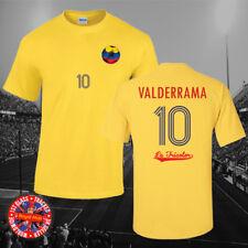 Colombia sequía Camiseta, Copa del Mundo, partidarios, Amarillo, Regalo, Hajduk