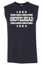 SHOVELHEAD YRS Sleeveless T-shirt - S to 3XL - Harley Davidson Biker Sturgis