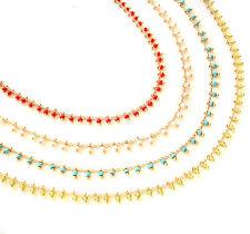 John Wind Necklace Seed Bead New Maximal Art Fashion Jewelry